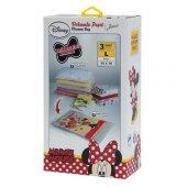 Magic Saver Bag Minnie Mouse 3lü Vakumlu Poşet Seti (L)