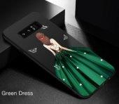 Samsung Note 8 Green Wedding Dress Telefon Kılıfı