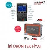 Multibox Mb 6000 Uydu Yön Bulucu Mb120 Kamera Test Cihazı Hediye