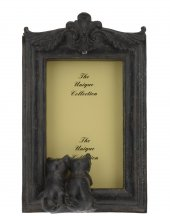 Resim Çerçevesi Kediler Biblolu Antik Siyah