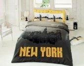New York Çift Kişilik Nevresim Takımı Siyah