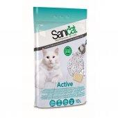 Sanicat Active İnce Taneli Marsilya Sabunlu Topaklaşan Kedi Kumu
