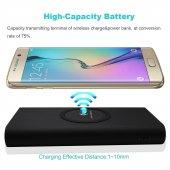 Kablosuz 10.000 Mah Powerbank S7+s8 Edge+iphone X+8 Destekli