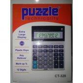 Puzzle Hesap Makınası Ct 320 12 Hane