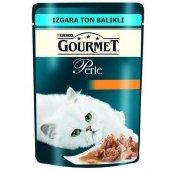 Gourmet Perle Izgara Ton Balıklı Yetişkin Kedi Konservesi 85 Gr