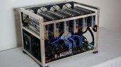 Bitcoin, Altcoin Ethereum Madenci Mining Rig Kasası