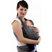 Sevibebe Bebek Taşıma Şalı Gri