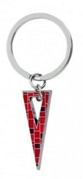 Nektar G08 085 Kırmızı Üçgen Metal Anahtarlık