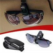 Araç İçi Gözlük Ve Kart Tutucu