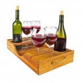 Joy Kitchen 5 Parça Ahşap Şarap Servisi Up00201 & P44728s4