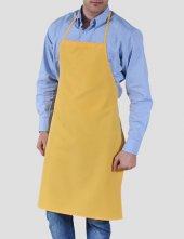 ön Önlük Mutfak Garson Aşçı İş Önlüğü Boyundan Askılı Unisex