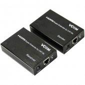 Vcom Dd471 Hdmı Extender 60 Metre Cat5e 6 Network Hdmı Extender 60 Metre Cat5e 6 Network Üzerinden Hdmı Uzatıcı