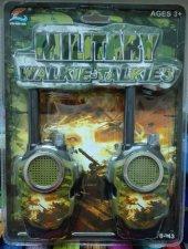 Askeri Telsiz Oyuncak 100 Mt Ye Kadar Çekim Gücü