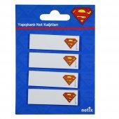 Notıx Sm Ka Fp Superman Yapışkanlı Ayraç 4lü 15x50