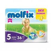 Molfix Junior 5 No Bebek Bezi Jumbo Paket 11 18 Kg 36 Adet