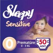 Sleepy Sensitive Jumbo Prematüre Bebek Bezi 0 3 Kg 50 Adet 0 No.