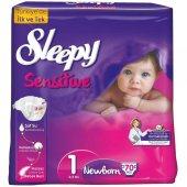 Sleepy Sensitive Jumbo Newborn Bebek Bezi 2 5 Kg 70 Adet 1 No.