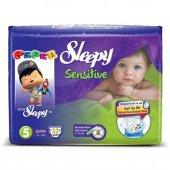 Sleepy Sensitive Jumbo Junior Bebek Bezi 11 18 Kg 32 Adet 5 No.