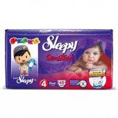 Sleepy Sensitive Jumbo Maxi Bebek Bezi 7 14 Kg 40 Adet 4 No.