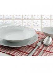 Porland Queen Beyaz Yemek Takımı 24 Parça