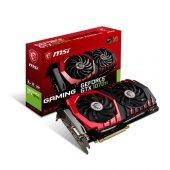 Msı 8gb Nvidia Gtx1070tı Gaming 8g Ddr5 256bit Hdmı Dvı 3x Displayport 16x (Pcıe 3.0) 180w 500w 8.0ghz