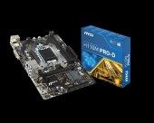 Msı Msı Intel H110 1151 Ddr4 2133mhz Dvı Anakart H110mprod
