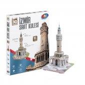 Saat Kulesi (İzmir) 3d Maket Puzzle