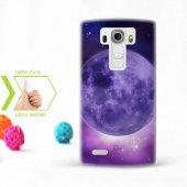 Kişiye Özel Lg G4 İnce Şeffaf Silikon Telefon Kapağı (Galaxy Tema