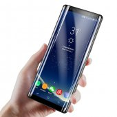 Baseus 3d Arc Samsung Galaxy Note 8 Kavisli Siyah Temperli Cam
