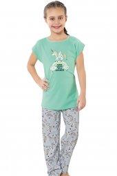 özkan 41962 Kız Çocuk Pijama Takımı