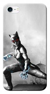 Iphone 6 6s Kılıf Silikon Baskılı Cat Women Stk 231