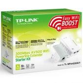 Tp Lınk Tp Link Tl Wpa4220kıt 300mbps Av500 Wifi Powerline