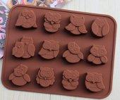 Baykuş Çikolata Kalıbı