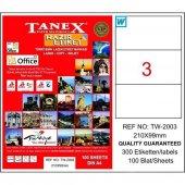 Tanex Tw 2003 210 Mm X 99 Mm 100 Sayfa Lazer
