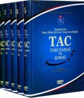 Tac Tercemesi Ve Şerhi (5 Cilt, Ciltli, Tam Metin, Şamua) Mansur Ali Nasıf El Hüseyni Kahraman Yayınları