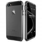 Verus İphone Se Crystal Bumper Series Kılıf Steel Silver