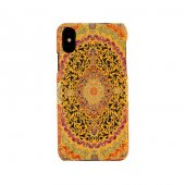 Iphone X Kapak Münhani El Yapımı Kilim Desenli Kumaş Dokuma
