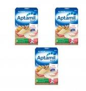 Aptamil Sütlü Bisküvili Kaşık Maması 500 Gr 3lü