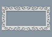 Sevda Ayna Cercevesi 80x160 Beyaz