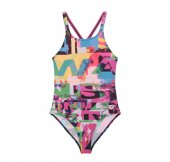 Arena G Instınct Jr One Pıece Çocuk Bikini Mayo Pembe