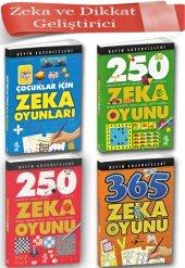 Zeka Ve Dikkat Geliştiren Oyunlar 4 Kitap