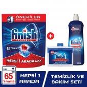 Finish Hepsi Bir Arada 55 Tablet Bulaşık Makinesi Deterjanı + Par