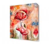 Kırmızı Gelincik Canvas Tablo