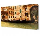 Venedik Şehir Kayık Tablosu