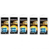 Duracell 675 Numara İşitme Cihazı Pili 5li Paket