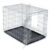 Trixie Katlanabilir Galvaniz Taşıma Kafesi 78x62x55 Cm