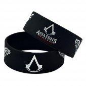 Assassins Creed Syndicate Assassin Kabartmalı Silikon Bileklik A