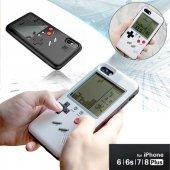 Iphone 6 7 8 Plus X Kılıf Tetris Oyun Silikon + Cr2032 Pil Hediye