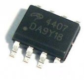 Ao4407 Ao4407a Sop8 P Channel Mosfet Ic