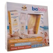 Biobaby Spf 50 Bebek Güneş Losyonu 100ml +bebek...